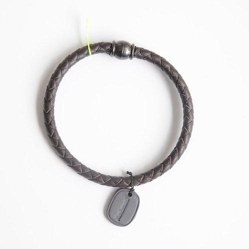 Bracelet Animal Médaille Noire - Margote Ceramiste