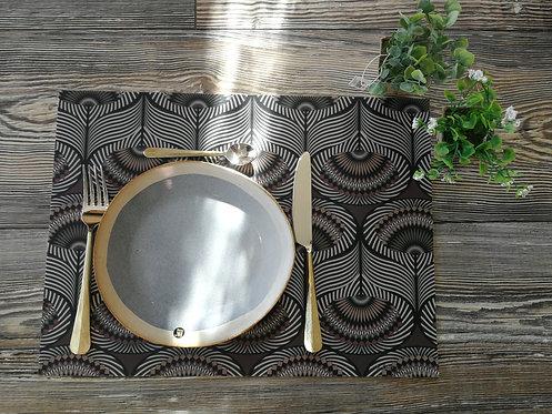"""BEAUMONT/PÔDEVACHE - Set de table - """"Ethnique"""""""