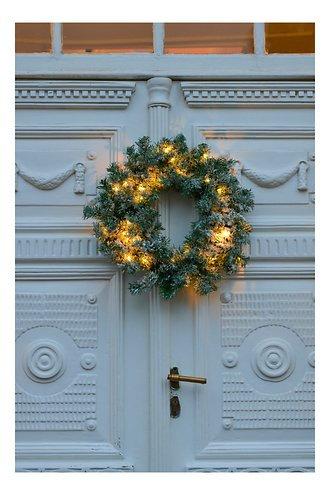SIRIUS - ANTON Couronne de Noël/guirlande lumineuse D45cm
