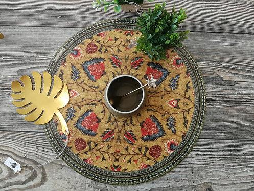 "BEIJA FLOR - Set de table - ""Bohémian Rond"" - P-BG8-38"