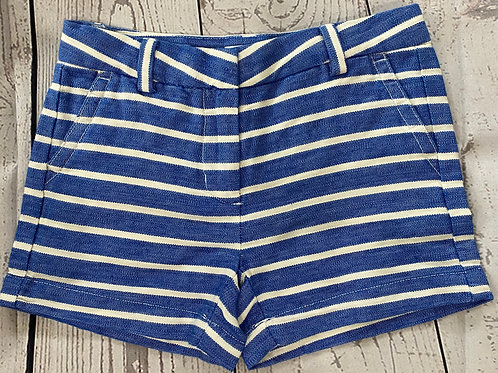 Boutique on a Budget ~ Vineyard Vines Blue and White Striped Girls Shorts size 7