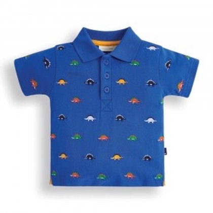 NWT Dinosaur Embroidered Polo Shirt - Infant