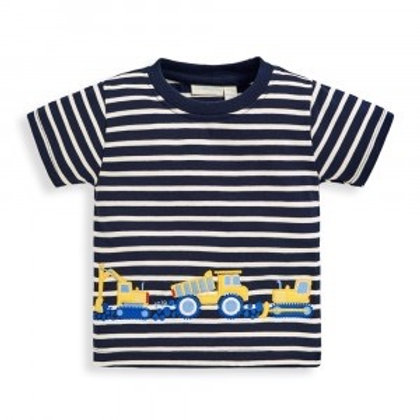 NWT Construction Vehicles Cotton Tee Shirt - Infant