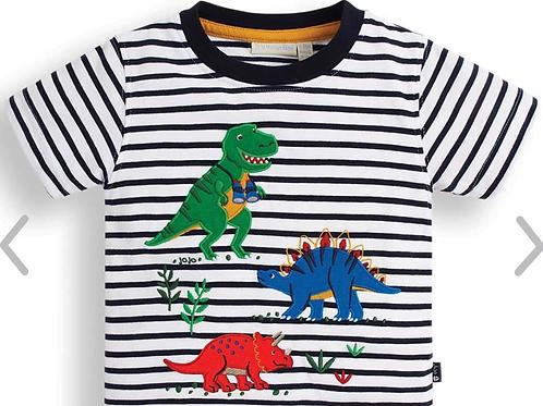 NWT Dinosaur Boys Applique Tee Shirt