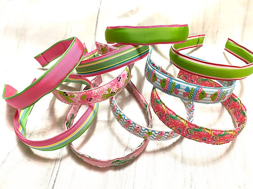 NEW Preppy Girls Fabric Headbands Different Prints