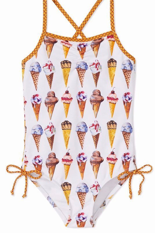NWT Stella Cove Ice Cream Print Swimsuit
