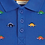 Thumbnail: NWT Dinosaur Embroidered Polo Shirt - Infant