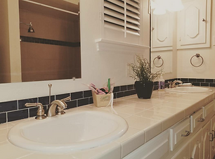 Clean Bathroom in a Recurring Clean by Adorable House.