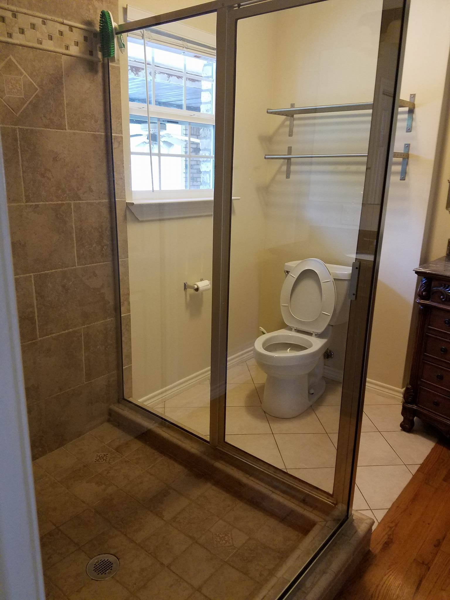 Post Clean Master Bathroom