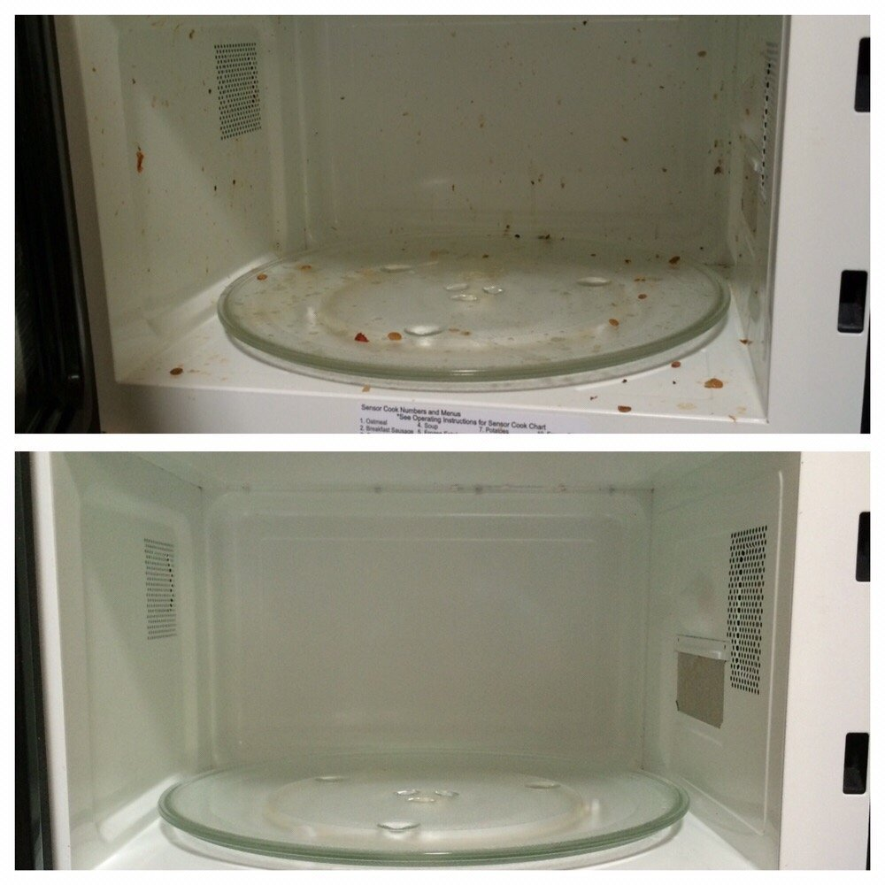 Before & After (Microwave)