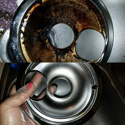 Clean of stove
