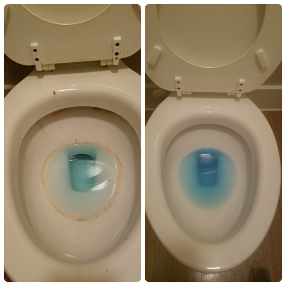 Before & After (Toilet 2)