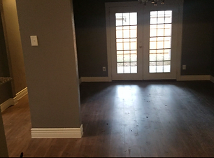 Empty Residential House Serviced by Adorable House Cleaning Company for Move Out Clean.