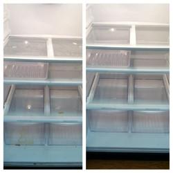 Before & After (Inside Refrigerator)