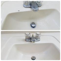 Before & After (Bathroom Sink)