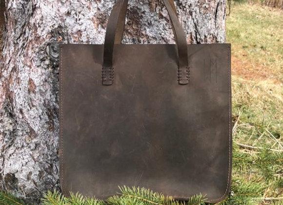 ARIN - CHOCOLATE LEATHER BAG