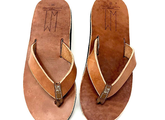 Ace Buck Brown Mens Sandals