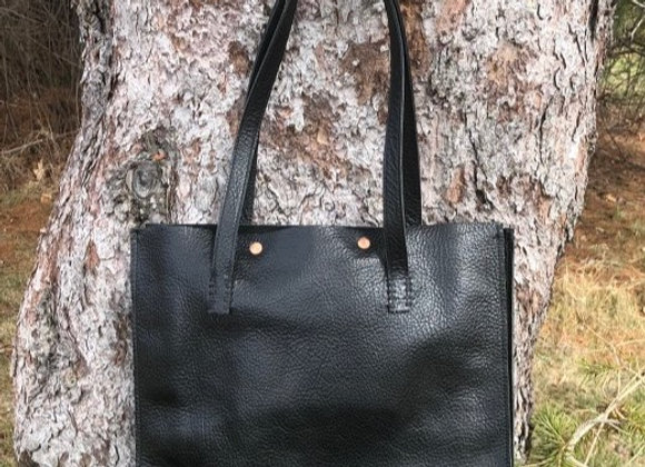 CHARLEIGH - BLACK LEATHER BAG