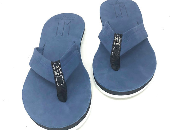 AL - MOONLIGHT BLUE LEATHER SANDALS