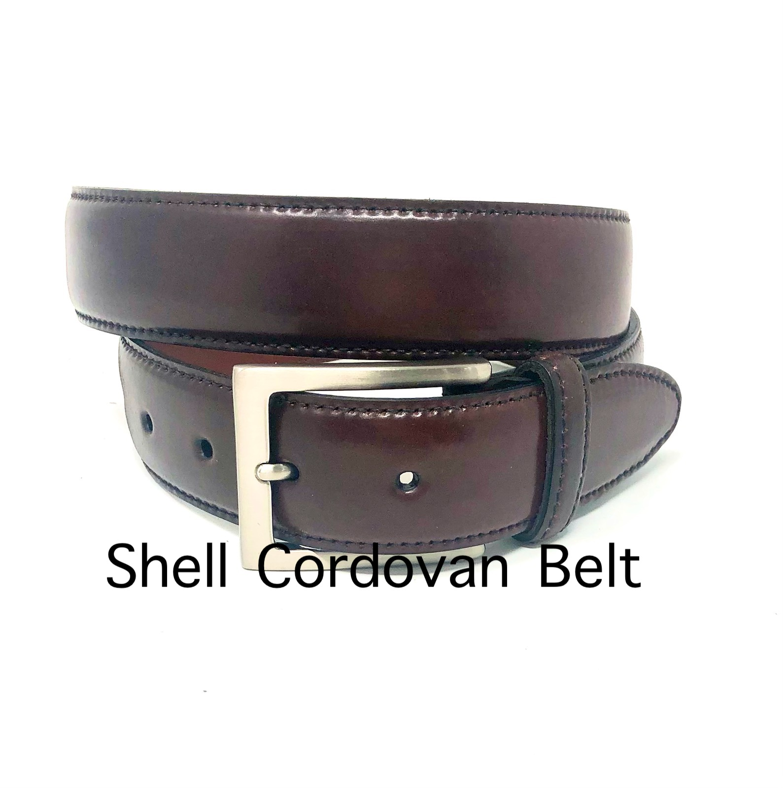 Shell Cordavan Belt 2 copy