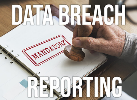 No surprises - data breach reporting becomes mandatory