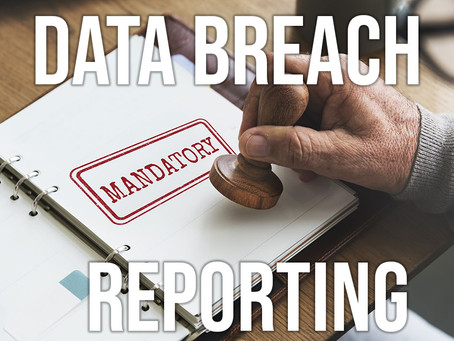 No surprises - data breach reporting becomes mandatory
