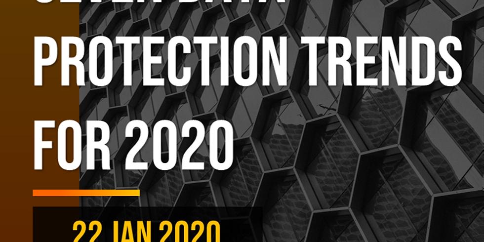 (DPEX Network Webinar) Seven Data Protection Trends for 2020 - Run 2