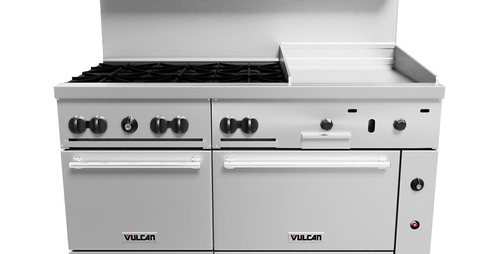 "Vulcan   ENDURANCE™ SERIES STAINLESS STEEL 60"" GAS RANGE 6-30,000 BTU BU"