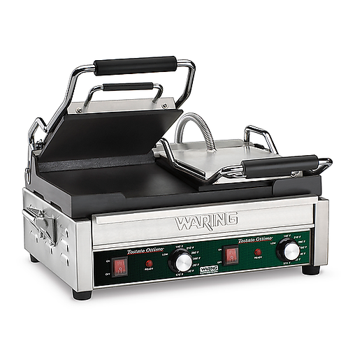 Waring | Tostato Supremo® Double Italian-Style Flat Grill - 240V