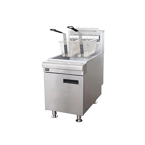 HDS | 75K BTU Gas Countertop Fryer NG