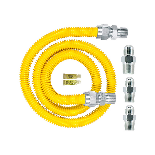 Dormont | 0240892 Gas Appliance Connector Kit, 48 In. Long 5/8 In. Outlet Diamet