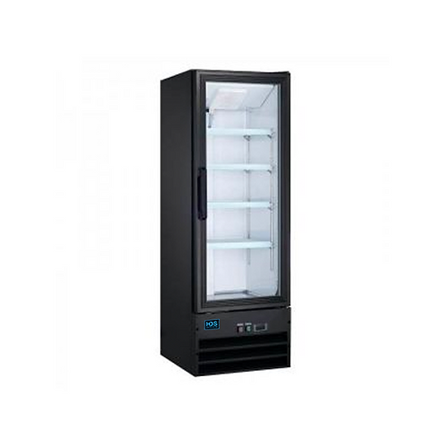 HDS | Merchandising Swing Glass Door Refrigerator - 1 Door, 9.1 Cu. Ft.