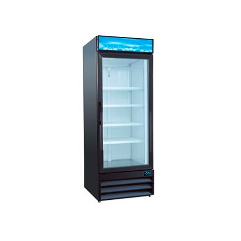 HDS | Merchandising Swing Glass Door Freezer - 1 Door, 13 Cu. Ft.
