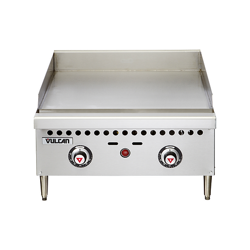 "Vulcan | 24"" VCRG SERIES THERMOSTATIC GAS GRIDDLE"