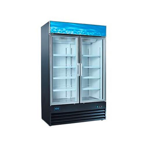 HDS | Merchandising Swing Glass Door Freezer - 2 Door, 45 Cu. Ft.