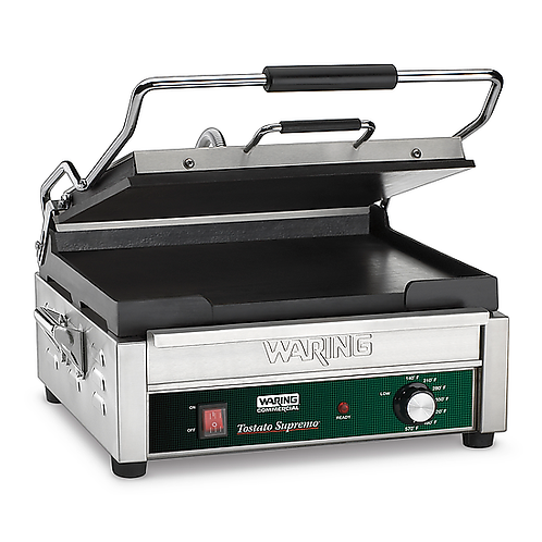 Waring | Large Italian-Style Flat Grill - 120V