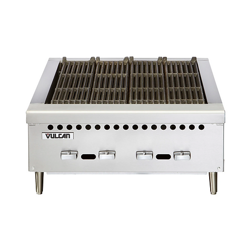 "Vulcan | 25"" VCCB SERIES LOW PROFILE RESTAURANT GAS CHARBROILER"