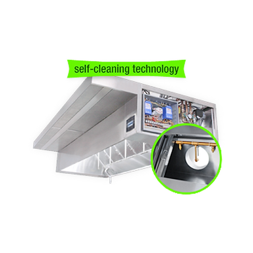 CaptiveAire | Self-Cleaning Hood