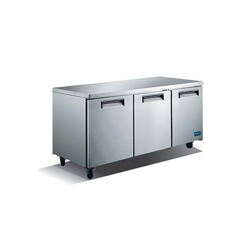 HDS | Undercounter Refrigeration - 3 Door, 15.5 Cu. Ft.