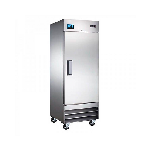 HDS | Economic Reach-in Solid Door Refrigerator - 1 Door, 23 Cu. Ft.