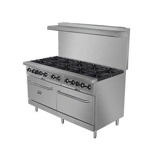 HDS | 10 Burner Gas Range w/Ovens