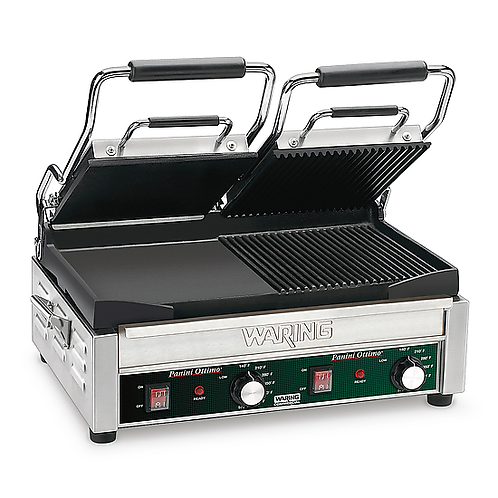 Waring | Double Italian-Style Panini/Flat Grill - 240V