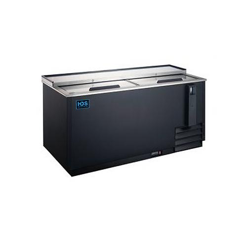 HDS | Horizontal Bottle Cooler - 2 LIDS, 64Wide