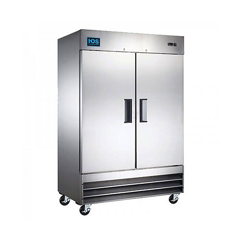 HDS | Reach-in Solid Door Freezer - 2 Door, 48 Cu. Ft.