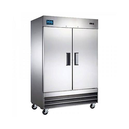 HDS | Reach-in Solid Door Refrigerator - 2 Door, 48 Cu. Ft.