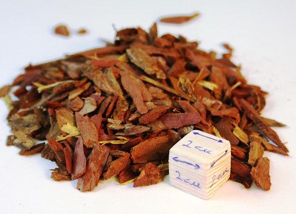 Кора лиственницы, мелкая фракция,1-3см