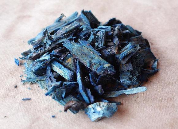 Синяя, фракция 2-4см.