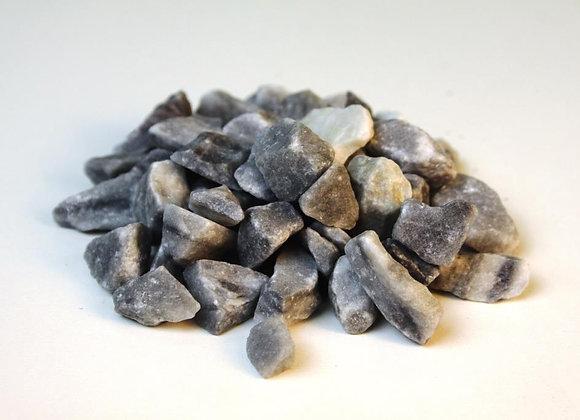 Серо-голубой мрамор, фракция 1-2см.