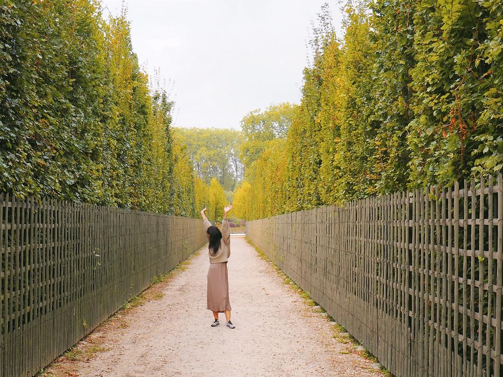 Gardens at Chateau Versailles