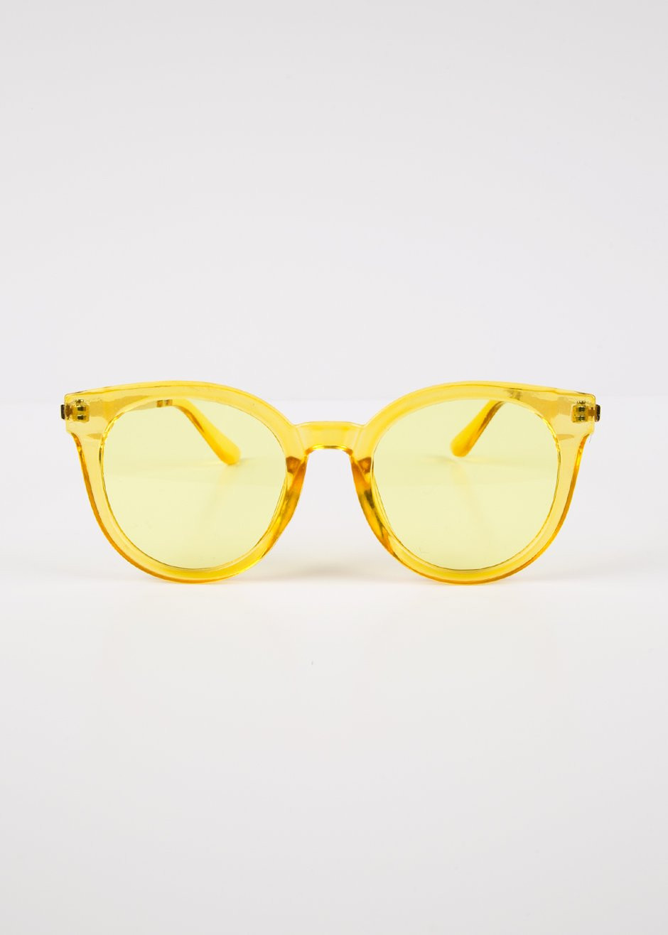 Frankie Shop Yellow Sunglasses $20
